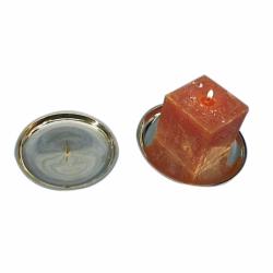 Lysestage til bloklys eller kuglelys - 2