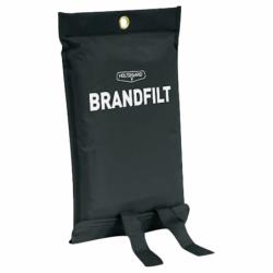 Brandfilt, sort, 120 x 180 - 1