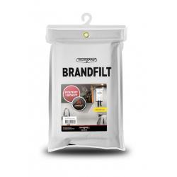 Brandfilt, hvid, 120 x 180 - 1