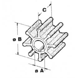 Impel Yamaha/Mariner 6H3-44352-00 - 1