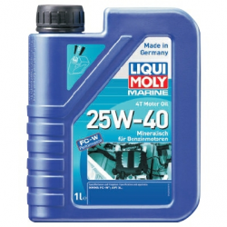 Liqui Moly 4T Motorolie 25W/40 - 1