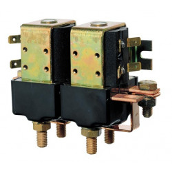 VETUS dual make/break relay, 24 Volt/3000 Watt, M6 terminals