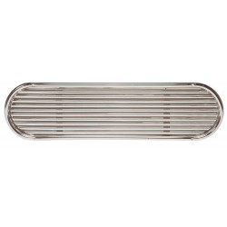 VETUS louvred air suction vent, type SSVL 100, AISI 316