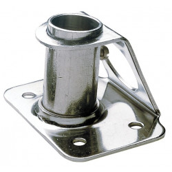 Stainless steel (AISI 316) stanchion socket
