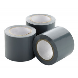 Self-adhesive tape, aluminium roll of 30 m