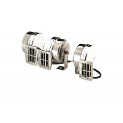 Compact elektric horn