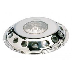 VETUS deck ventilator UFO, SS, translucent, incl. plastic grill