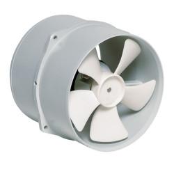 VETUS extraction ventilator, 12 V, 6 A, 178 mm