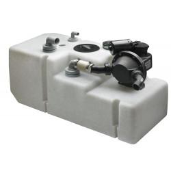 VETUS waste water tank system 120 litre, incl. 12 Volt pump & sensor