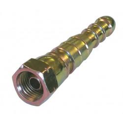 """Gas adapter 1/4"""" LH til 8 og 12 mm slange - 2"""