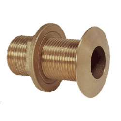 "Bronze thru-hull fitting, G1 ½"" bronze, chamfered - 1"