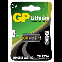 GP Foto Lithium Batteri CR123 - 1