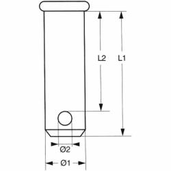 Splitbolte/Rigbolte - 1