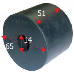 Siderulle bredde 51 mm - 1