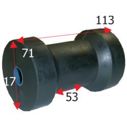 Kølrulle længde 113 mm - 1