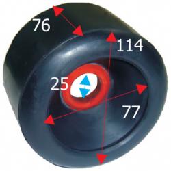Siderulle bredde 114 mm - 1