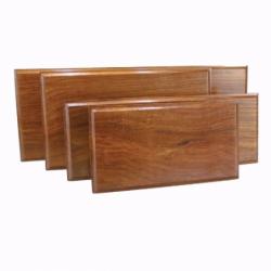 Trævægplade til Stormglas eller Galileiglas - 1
