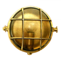 Skotlampe, rund, centermontering - 1