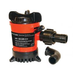 Johnson L450, L550, L650, L750 lænsepumpe - 1