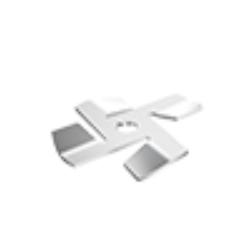 Firebladet kniv for Seaflo macerator pumpe - 1