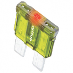 Fladsikring med LED - 1
