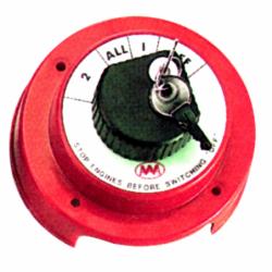 Batteriomskifter 250 A med nøgle - 1