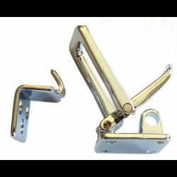 Låsebeslag et låseoverfald med lige eller vinkel beslag - 3