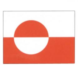 Grønlandsk nationalflag - 1