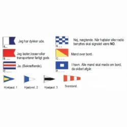 Diverse signalflag - 1